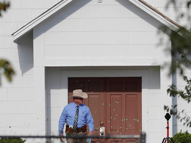 Texas Church To Be Demolished Like Other Mass Killing