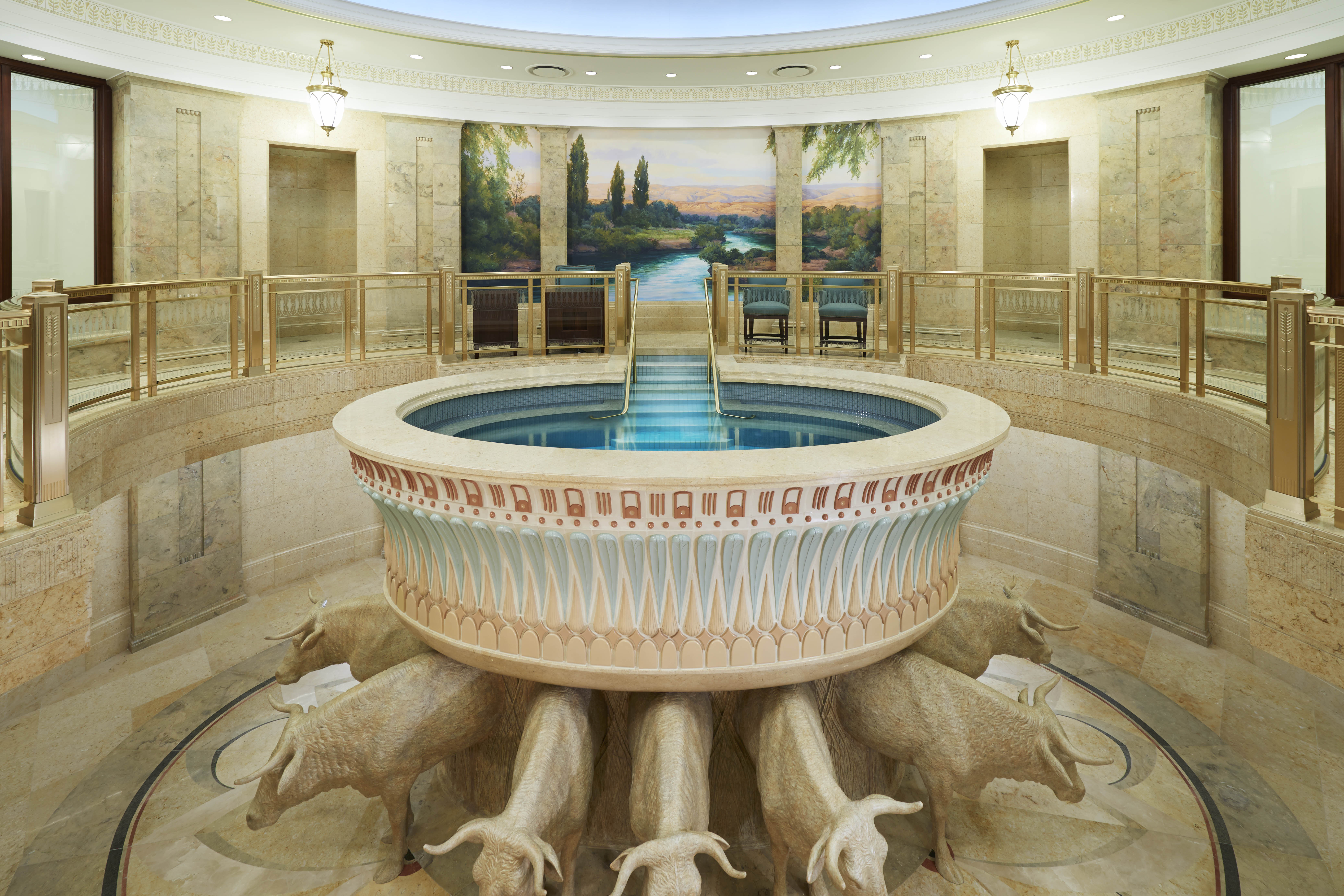 New Mormon policy gives teen boys power to baptize in the temple ...