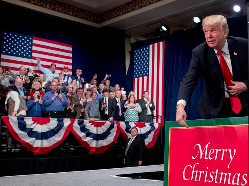MSNBC trolls Trump with video montage of Obama saying 'Merry Christmas'