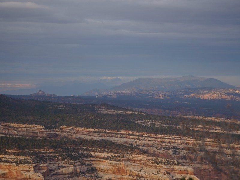 Bears Ears National Monument in Utah, as seen during a gathering of clergy and Native American leaders in November 2017. Photo courtesy of the New Mexico Wildlife Federation