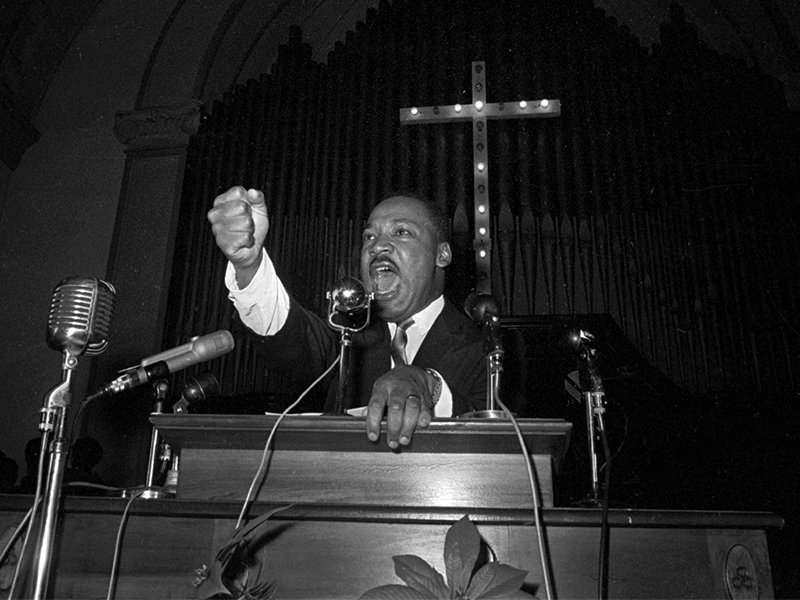From The Black Church To India The Theology Of Martin Luther King