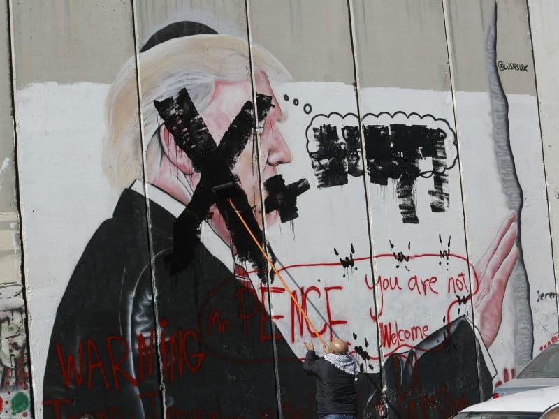 Palestinian Christians Slam Pences Pro Israel Faith Religion News