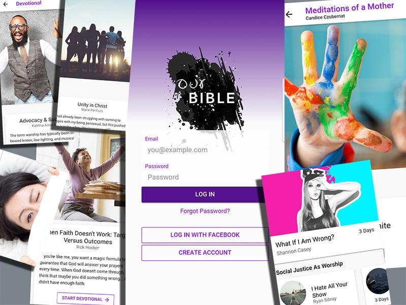 New Bible app creates online community for progressive
