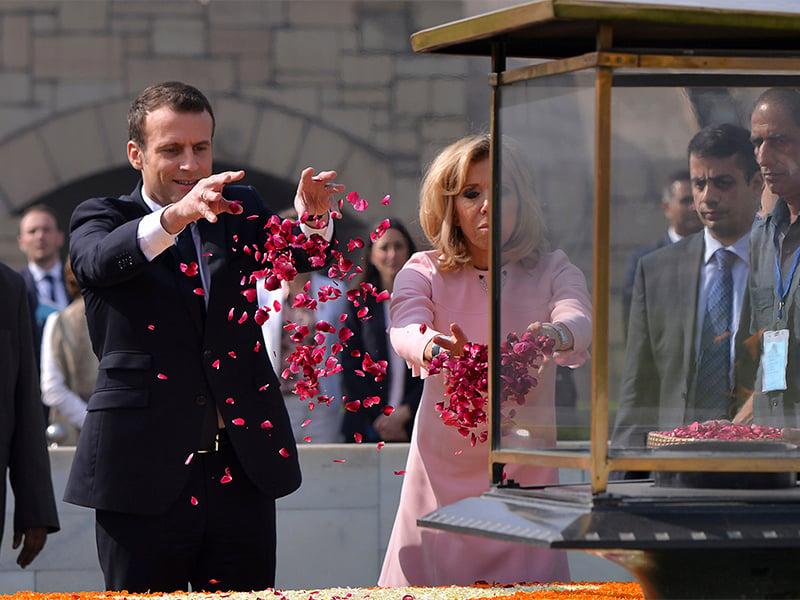 Emmanuel Macron Brigitte Macron Religion News Service