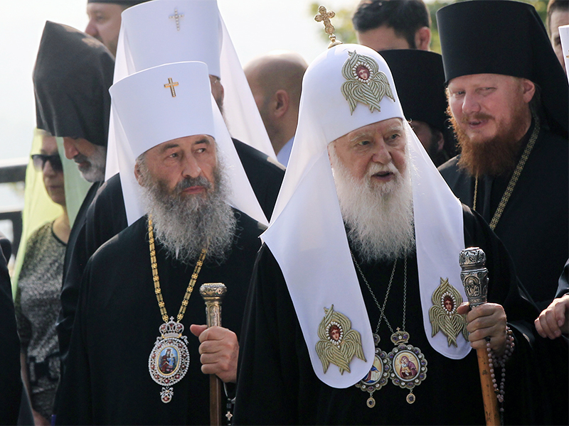Ukrainian Orthodox switch allegiance from Moscow to Kiev-linked