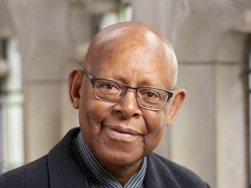 The Rev. James Cone, who died April 28, 2018,  was known as the father of black liberation theology. Photo courtesy of Union Theological Seminary
