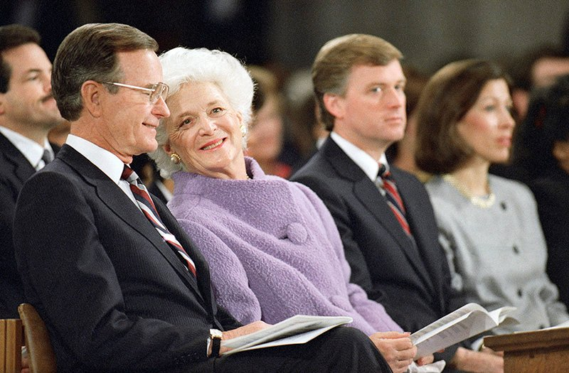 Barbara Bush S Old Fashioned Religion Religion News Service