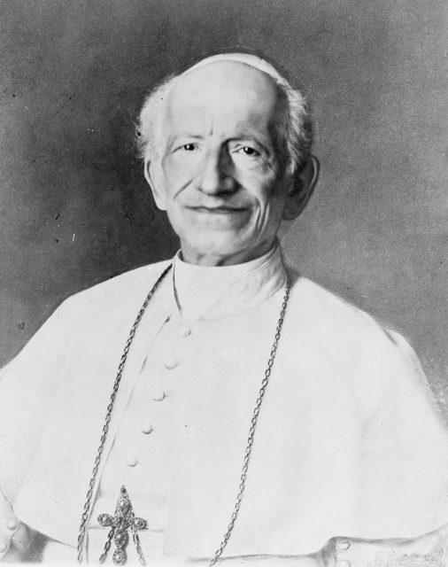 Pope Leo XIII. Image courtesy of Creative Commons
