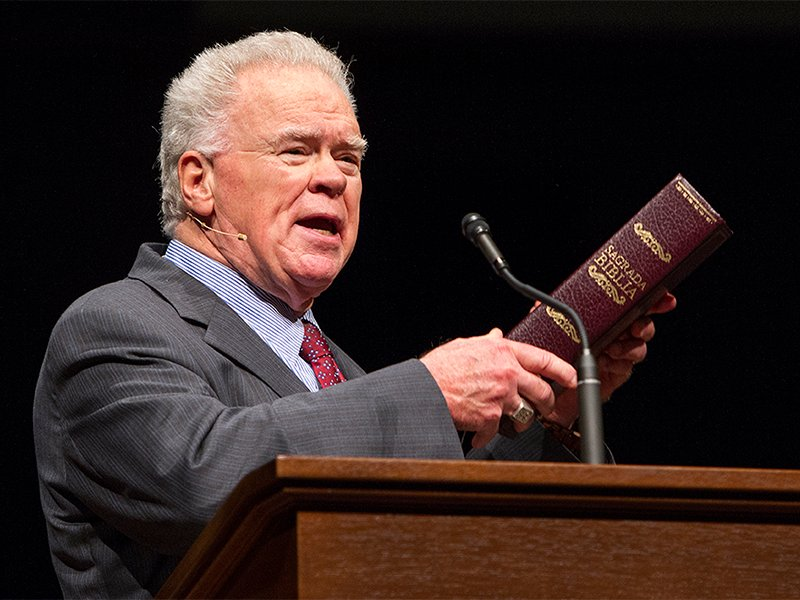 Paige Patterson speaks on March 25, 2015, at Southwestern Baptist Theological Seminary in Fort Worth, Texas. Patterson worked as the president of Southwestern Baptist Theological Seminary for more than a decade and served as the president of the Southern Baptist Convention in 1998 and 1999. Photo courtesy of SWBTS