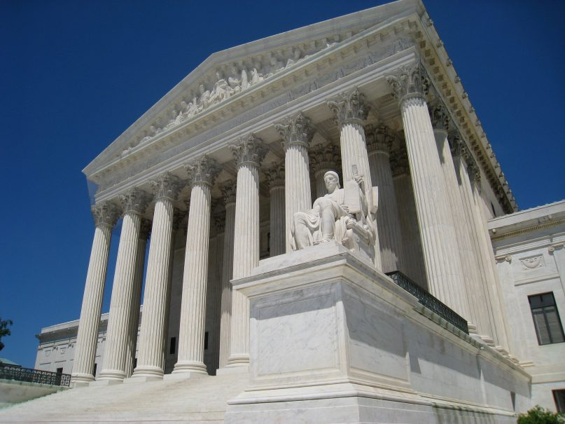 A general view of the U.S. Supreme Court building in Washington. Photo courtesy of Creative Commons