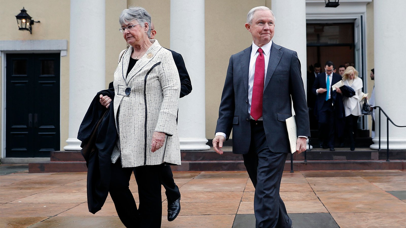 More than 600 United Methodists file formal church complaint against Jeff Sessions - Religion News Service
