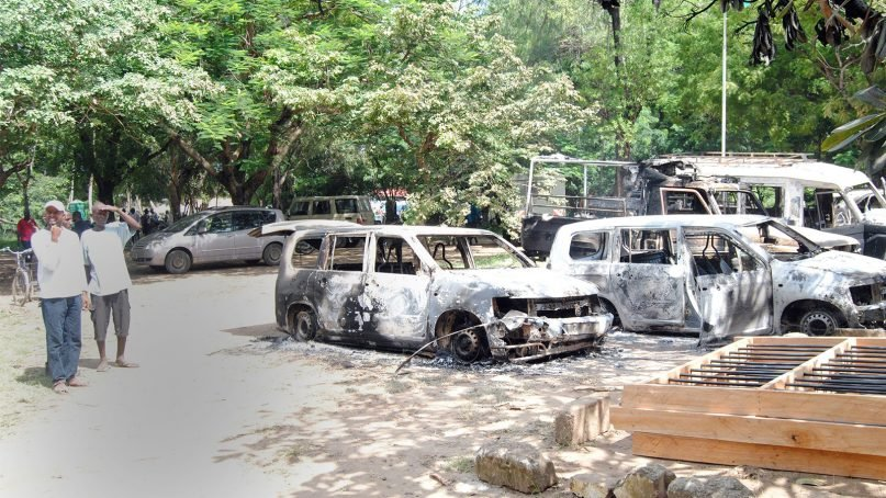 The aftermath of aterror attack in the Mpeketoni area in the Kenyan coastal county of Lamu in 2014. The attackers, claiming to be from the militant group al-Shabab, killed Christian men whom they separatedfrom Muslims. RNS photo by Fredrick Nzwili