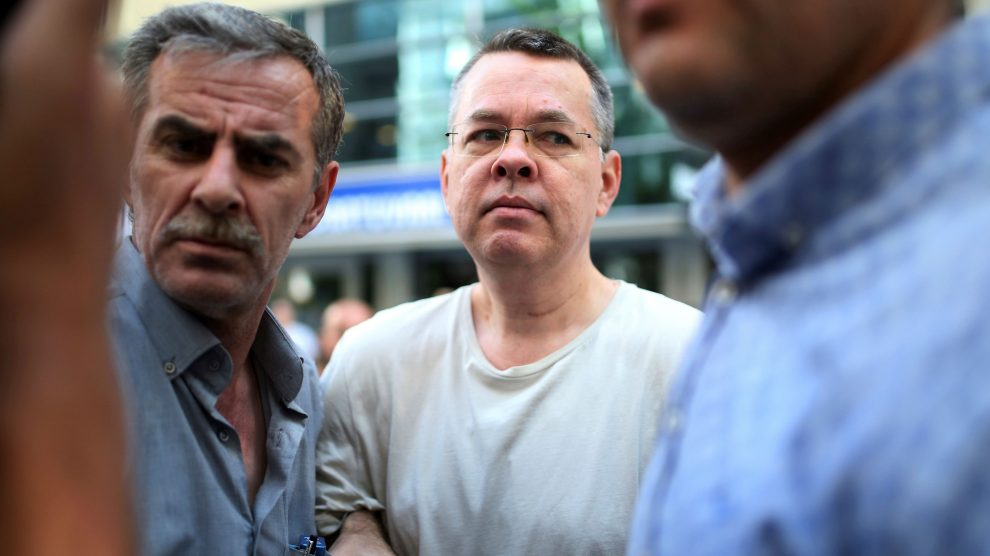 Turkish court rules that US pastor move from jail to house arrest