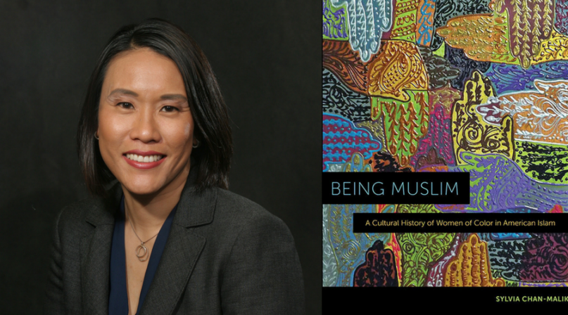 """""""Being Muslim: A Cultural History of Women of Color in Amerian Islam"""" cover and author Sylvia Chan-Malik. Courtesy images"""