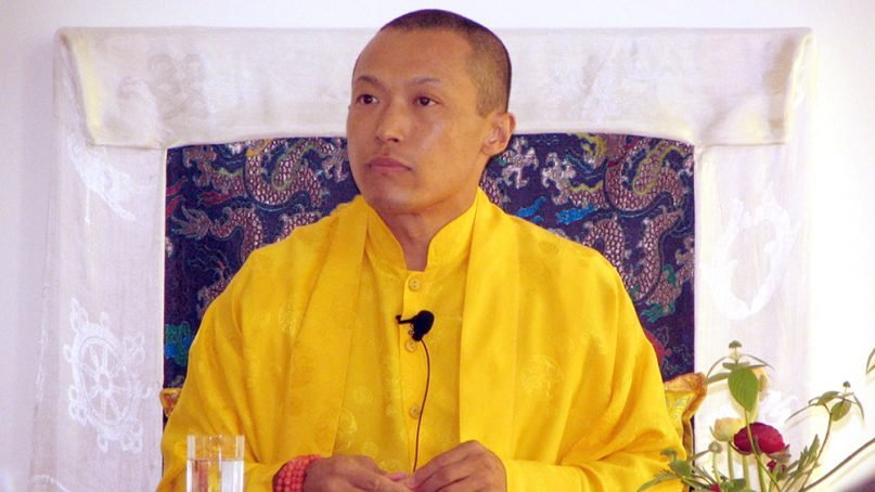 Mipham Rinpoche in 2005. Photo courtesy of Creative Commons