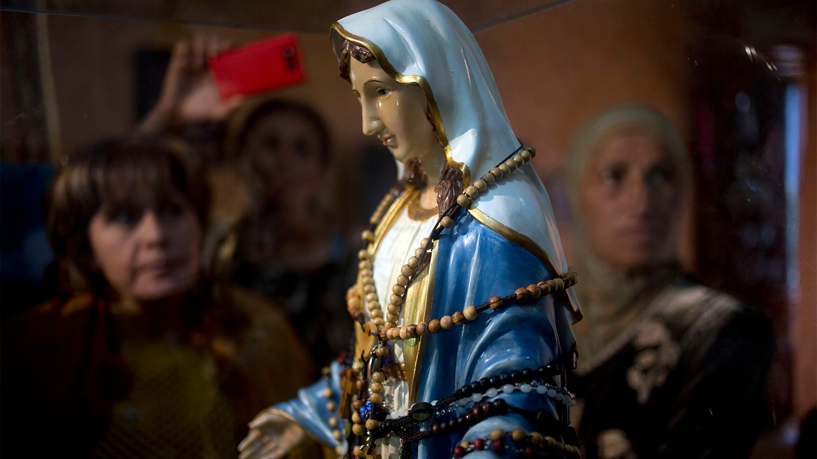The belief behind weeping Virgin Mary statues - Religion