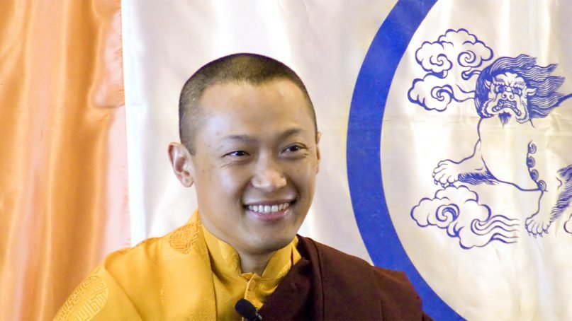 Sakyong Mipham Rinpoche in 2007. Photo courtesy of Creative Commons