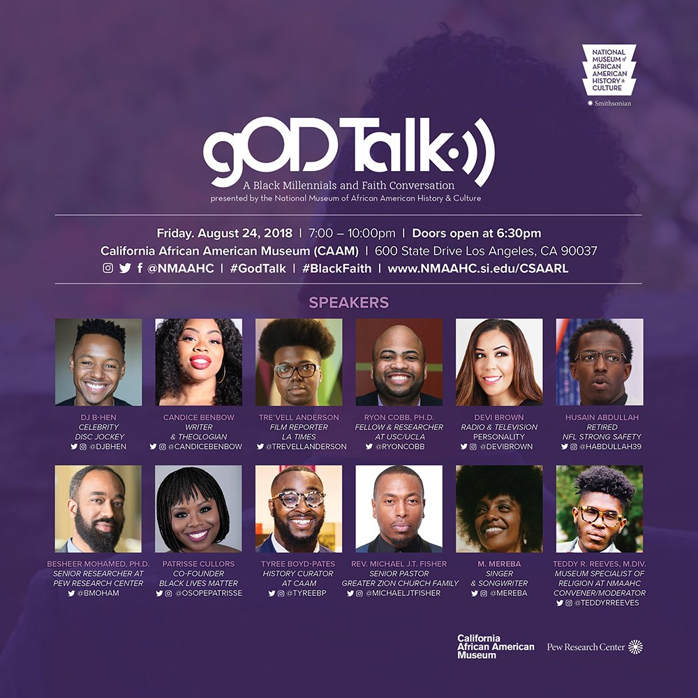 In 'gOD-Talk' discussions, black millennials explore their