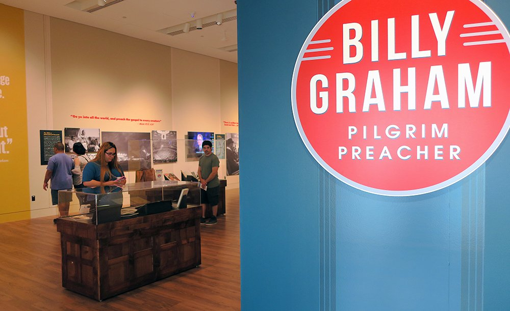 Museum of the Bible Billy Graham show