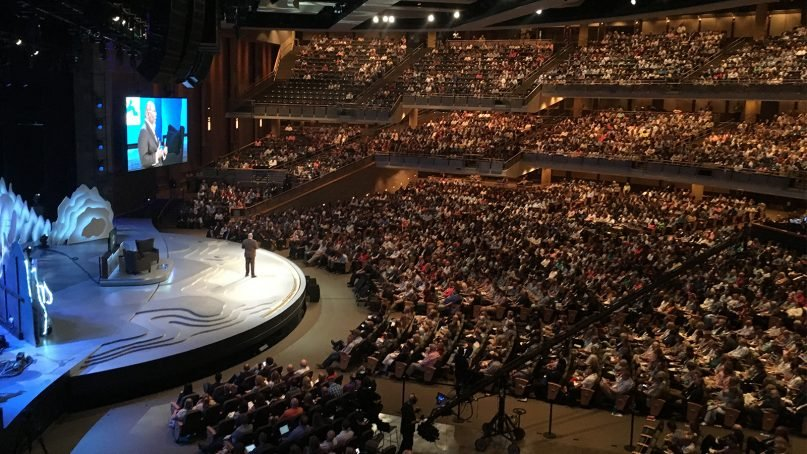 The main campus of Willow Creek Community Church in South Barrington, Ill. Photo courtesy of Global Leadership Summit