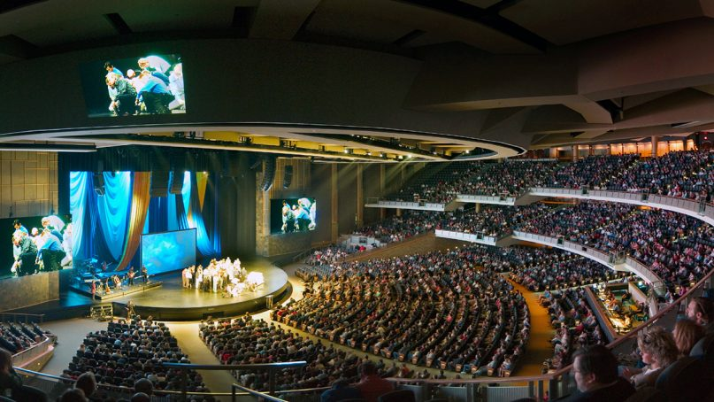 An expansive view of Willow Creek Community Church in South Barrington, Ill. Photo courtesy of Willow Creek Community Church