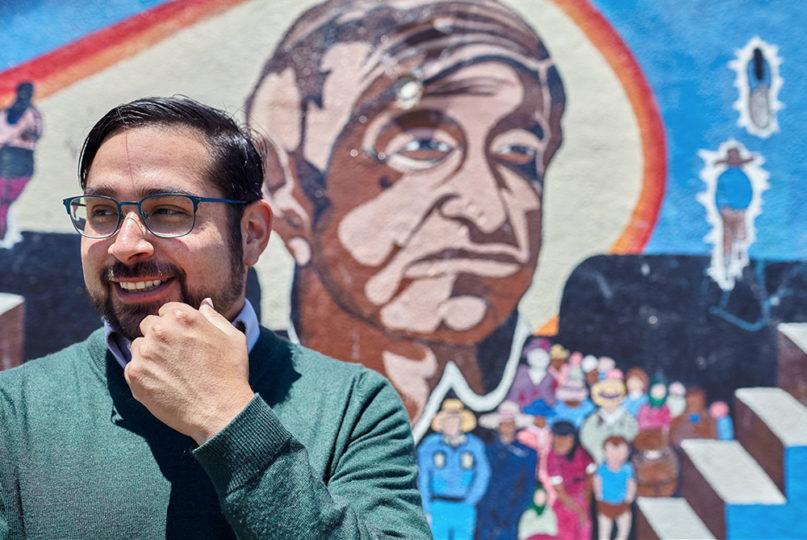 Manny Escamilla is campaigning for City Council in Santa Ana, California. Photo courtesy of Manny Escamilla