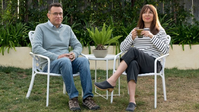 """Fred Armisen and Maya Rudolph star in """"Forever"""" on Amazon. Photo by Colleen Hayes/Amazon Studios"""