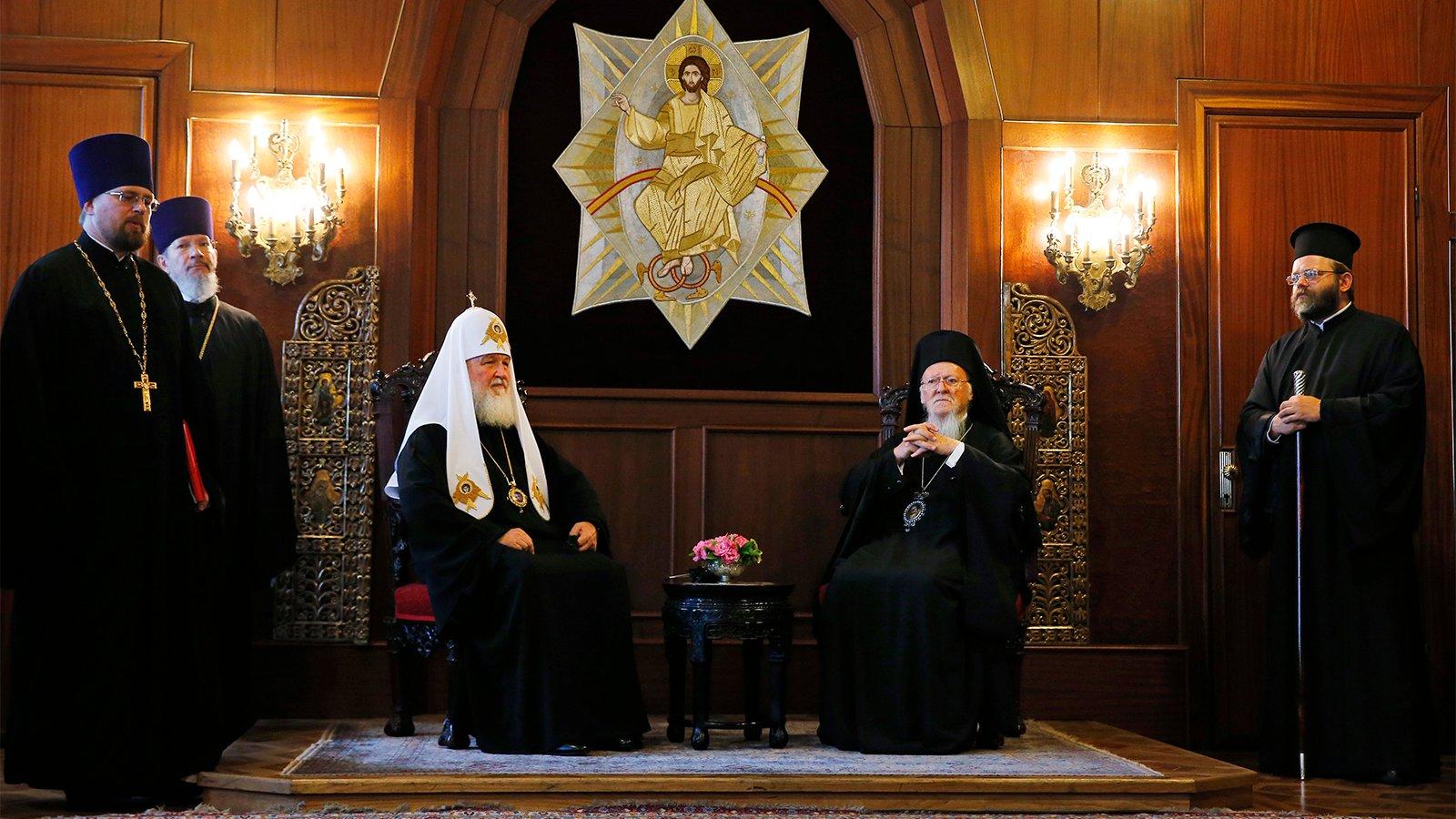 Eastern Orthodoxy risks split over independence for