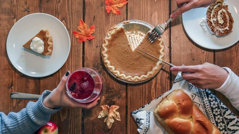 Thanksgiving meals will be different for many people in 2020. Photo courtesy of Creative Commons