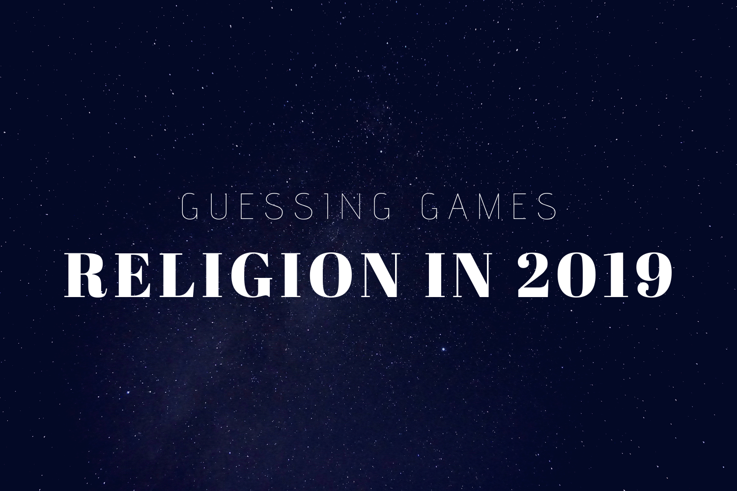 What S Coming For Religion In 2019 Here S What The Experts