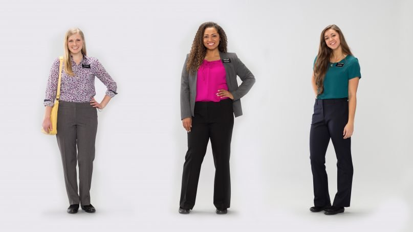 Mormon women missionaries can now wear pants! But not to church