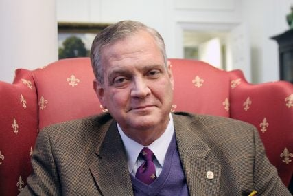 R. Albert Mohler Jr., president of Southern Baptist Theological Seminary in Louisville, Ky. RNS photo by Adelle M. Banks