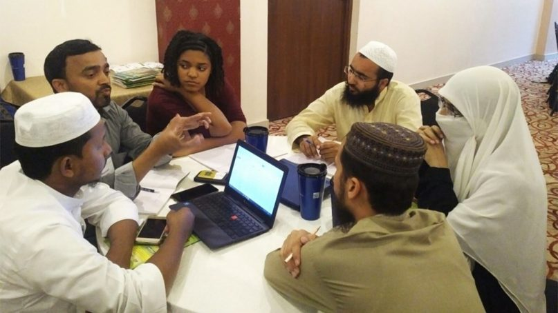 Madrasa and Notre Dame students particpate in a discussion during the Kathmandu Summer Intensive program of Notre Dame's Madrasa Discourses in July 2017, in Nepal. Photo courtesy of University of Notre Dame