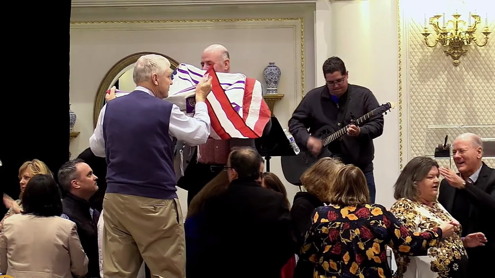 At Trump's hotel, spiritual warriors pray for the president Trump