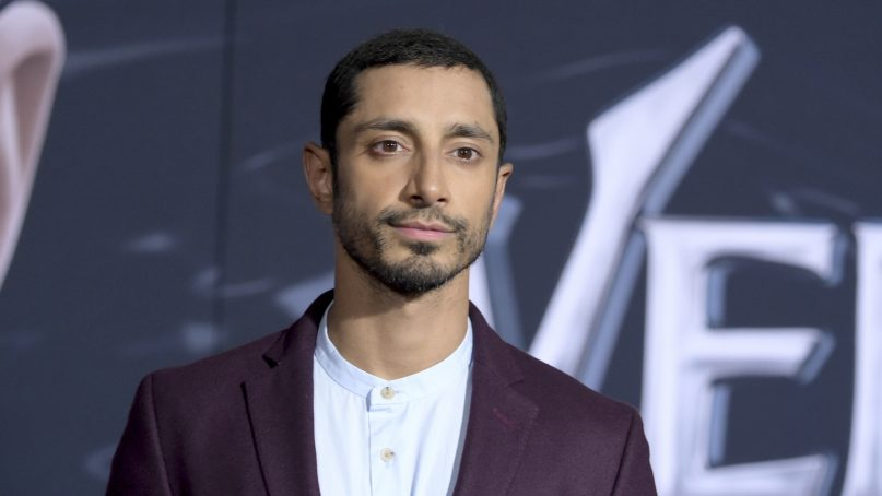 Riz Ahmed arrives at the world premiere of