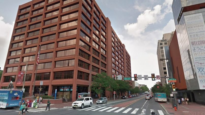 The American Bible Society, left, is headquartered in Philadelphia. Photo courtesy of Google Maps