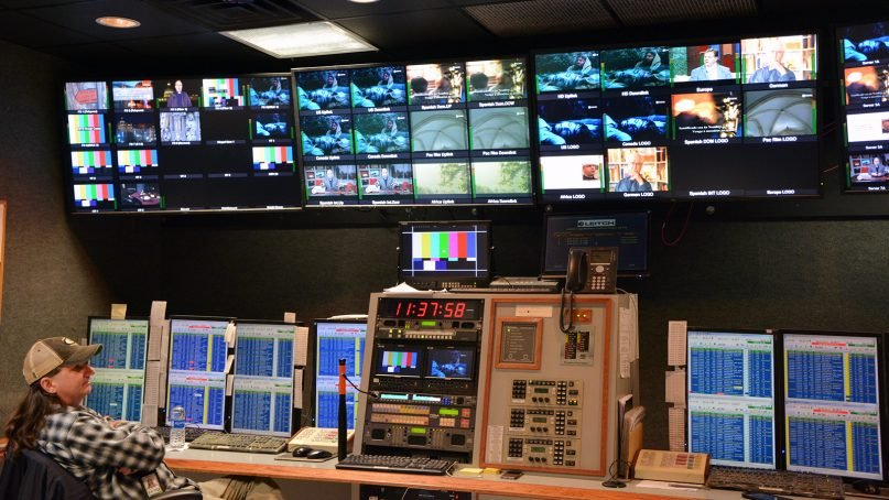 The control room of EWTN in Irondale, Ala., on Jan. 8, 2019. RNS photo by Jack Jenkins