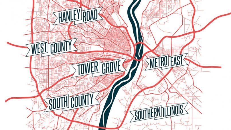 The Journey has six locations around the St. Louis metro area, four in Missouri and two in Illinois. Graphic courtesy of The Journey