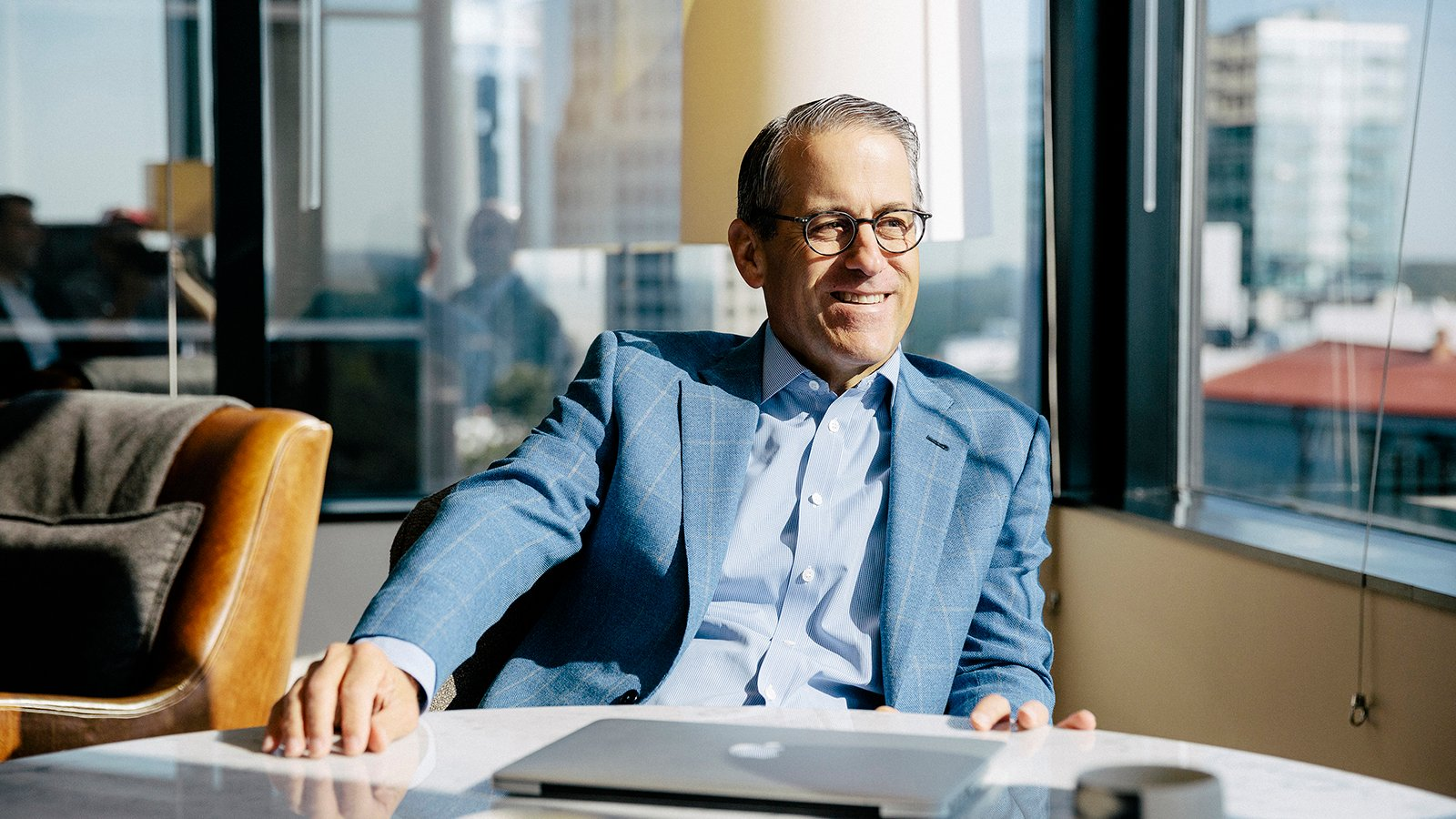 Mark DeMoss has guided public relations for many prominent Christian organizations in recent decades from his Atlanta-based firm. Photo courtesy of DeMoss