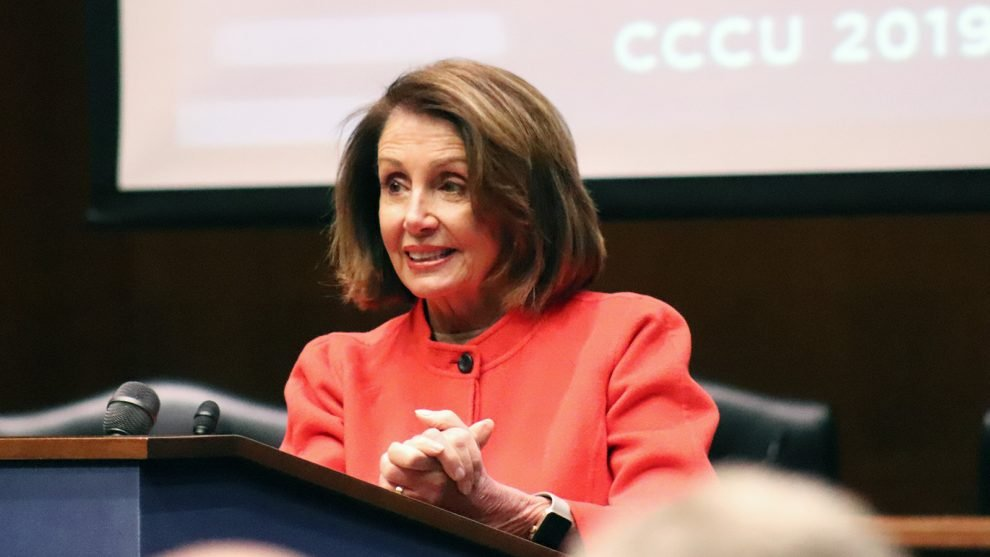 Betsy Devos Ignorance Is Not Compelling >> Pelosi Devos Address Christian Educators On Policy And Faith