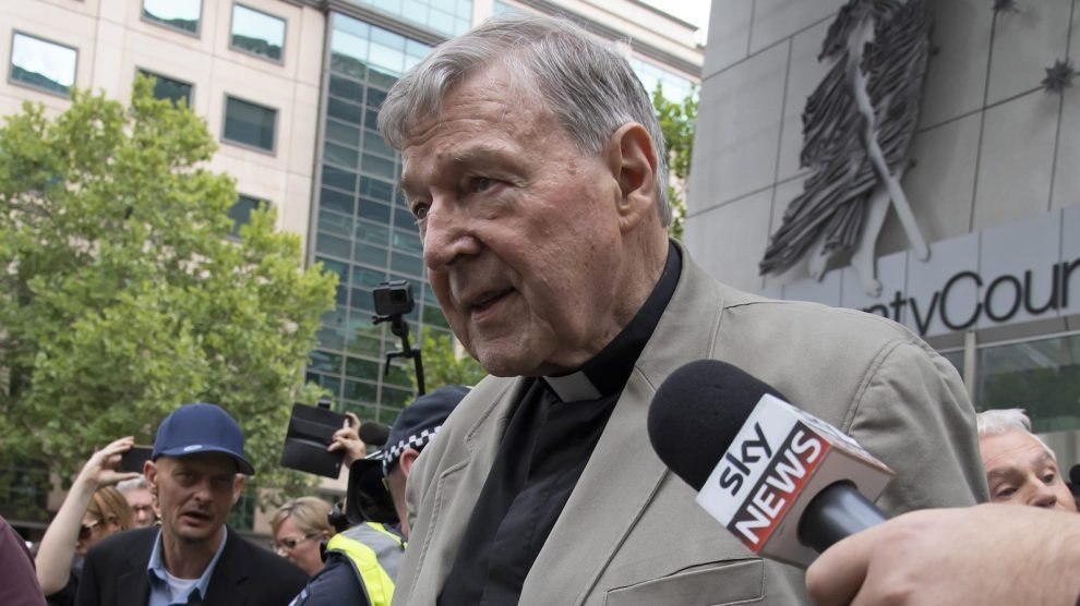 Cardinal Pell sent to prison for abusing two boys in Australia