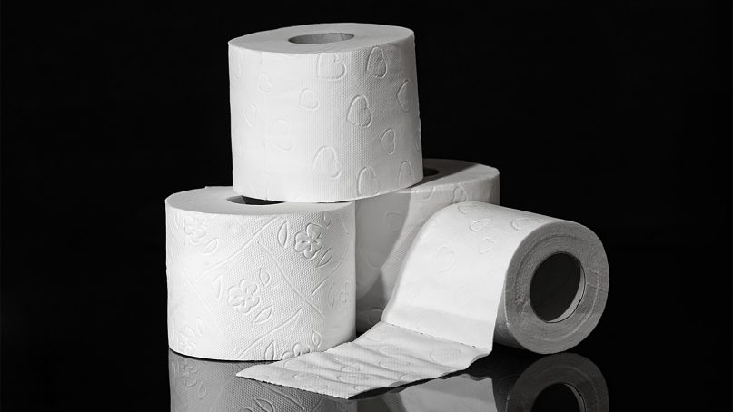 Listening to a sermon online almost led to a toilet paper order. Photo courtesy of Creative Commons