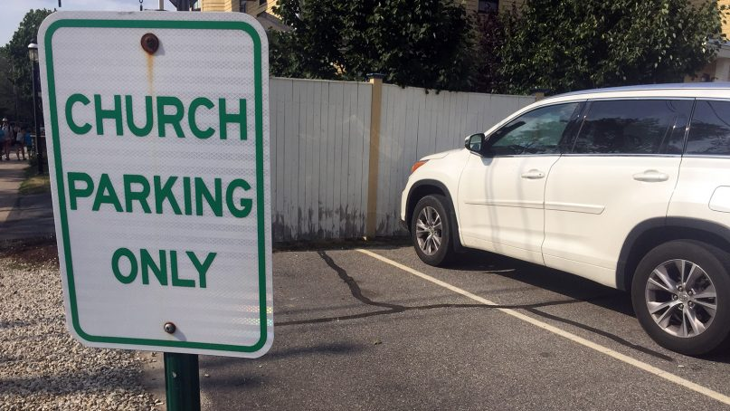 The 2017 tax overhaul could affect church employee parking benefits. Photo courtesy of Creative Commons