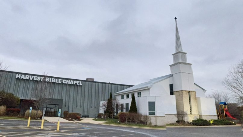 Harvest Bible Chapel in Rolling Meadows, Ill. Photo courtesy of Google Maps
