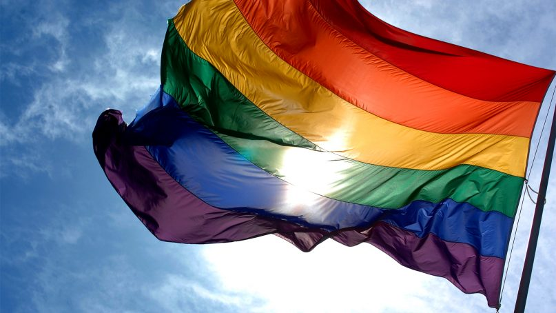 The rainbow flag is a highly recognized symbol for the LGBTQ community. Photo by Ludovic Bertron/Creative Commons