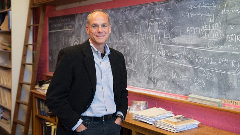 Marcelo Gleiser, Appleton Professor of Natural Philosophy and a professor of physics and astronomy at Dartmouth College. Photo by Eli Burakian, courtesy of Dartmouth