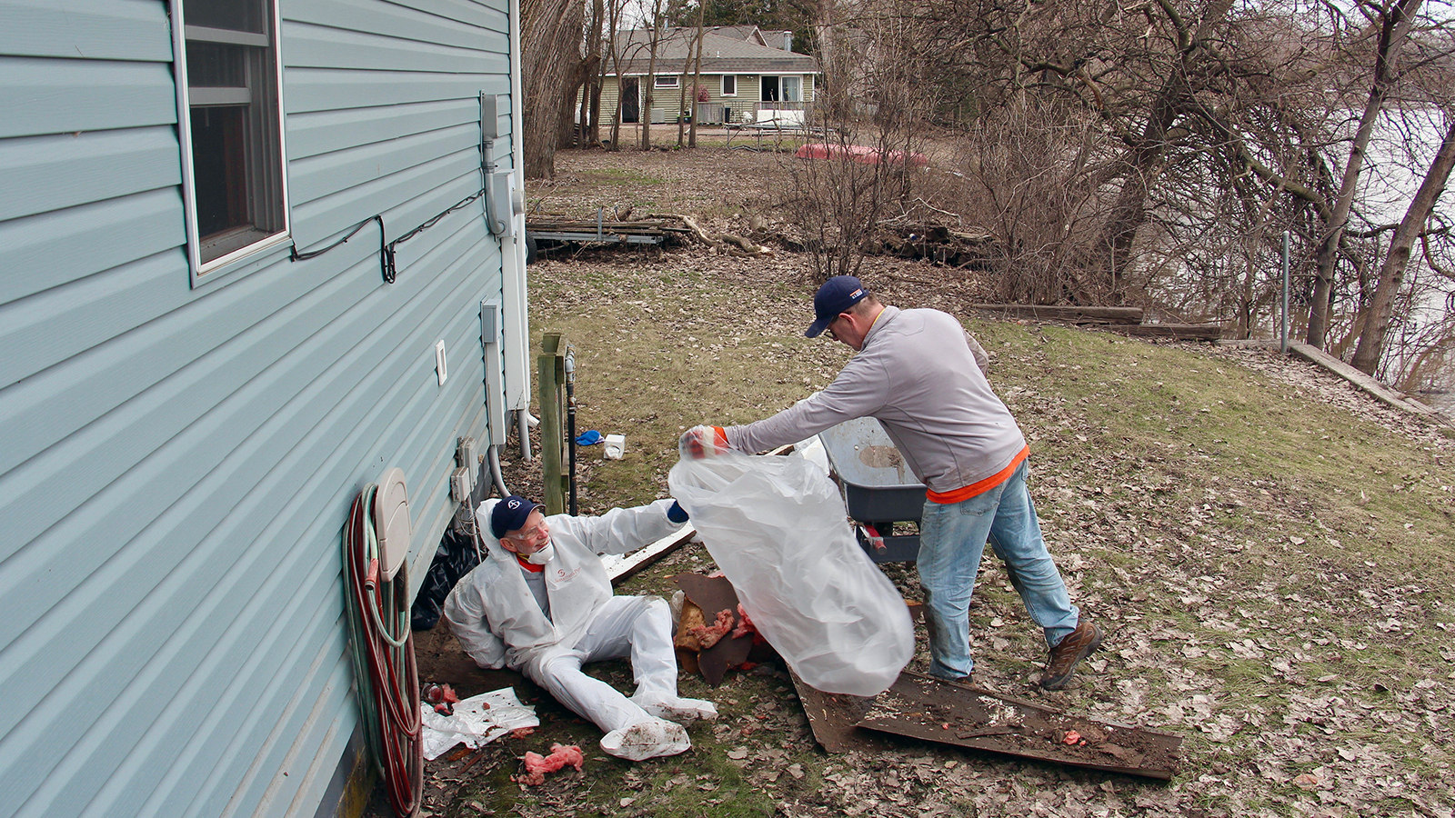 Churches and other faith-based groups lend a hand after