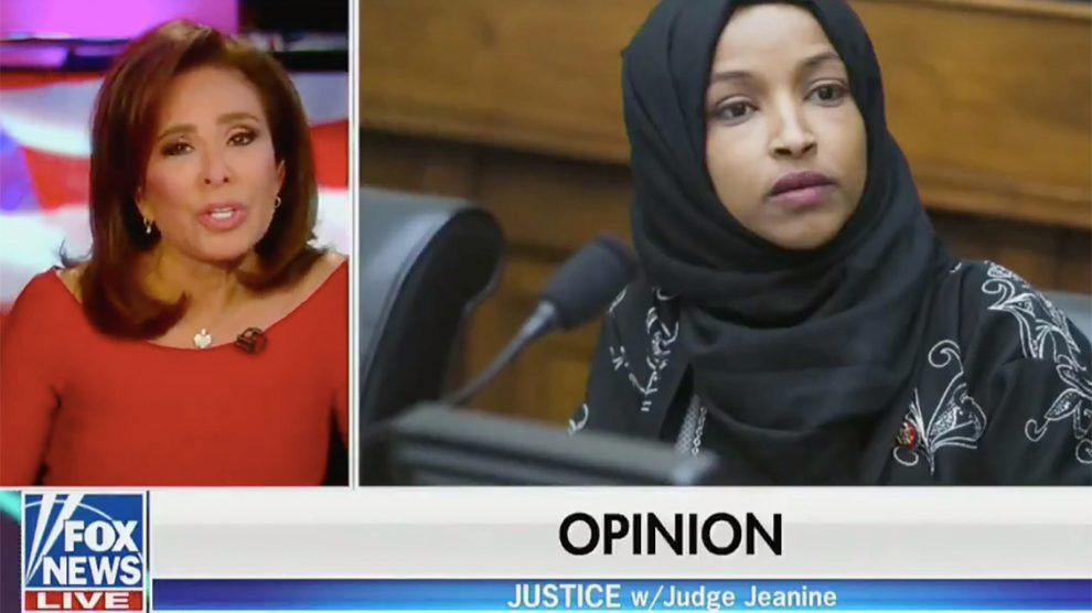 Rep. Omar thanks Fox for condemning Jeanine Pirro