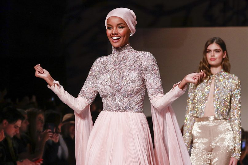 ab037b5d50a57 Sports Illustrated Swimsuit: Halima Aden first to wear hijab, burkini -  Religion News Service