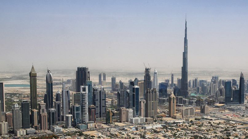 The Dubai skyline in 2015. Photo by Tim Reckmann/Creative Commons